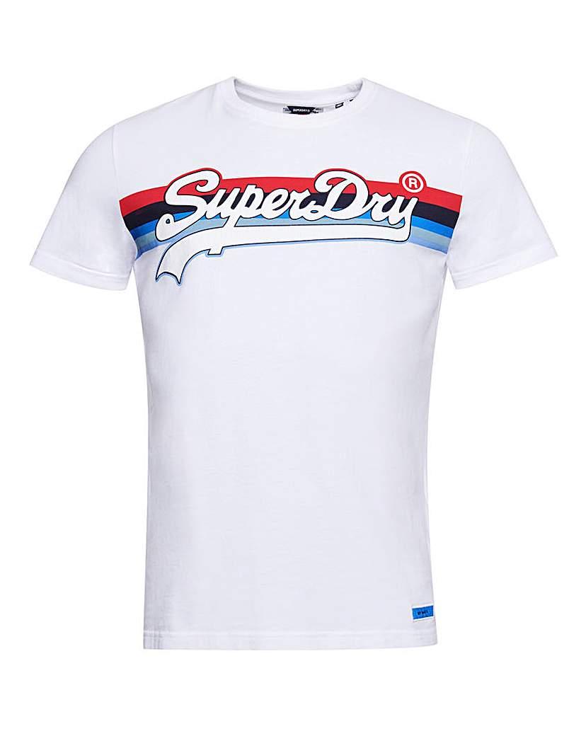 Superdry Vintage Cali Stripe T-Shirt