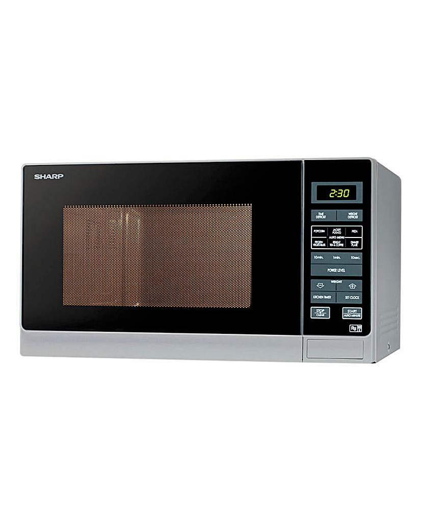 Sharp R372SLM 25L Digital Microwave