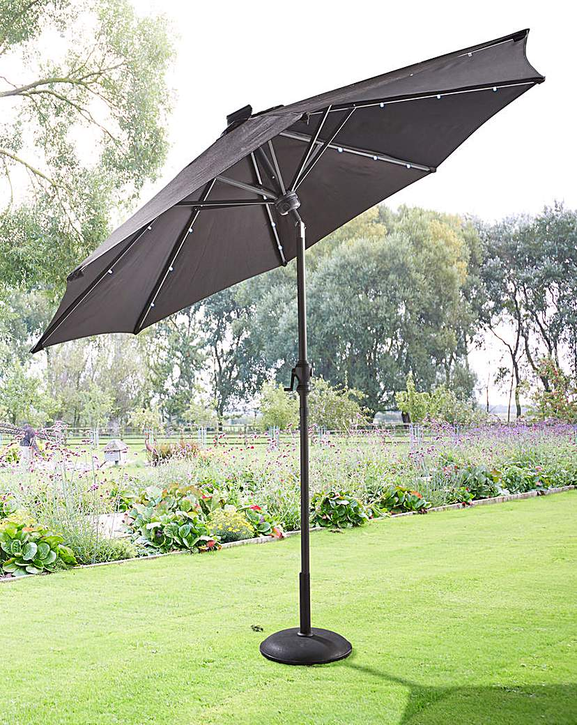 Image of 2.7m Parasol with LED strips & Bluetooth