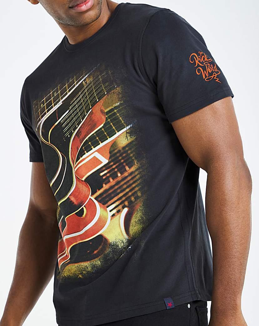 Joe Browns Abstract Guitar T-Shirt Long