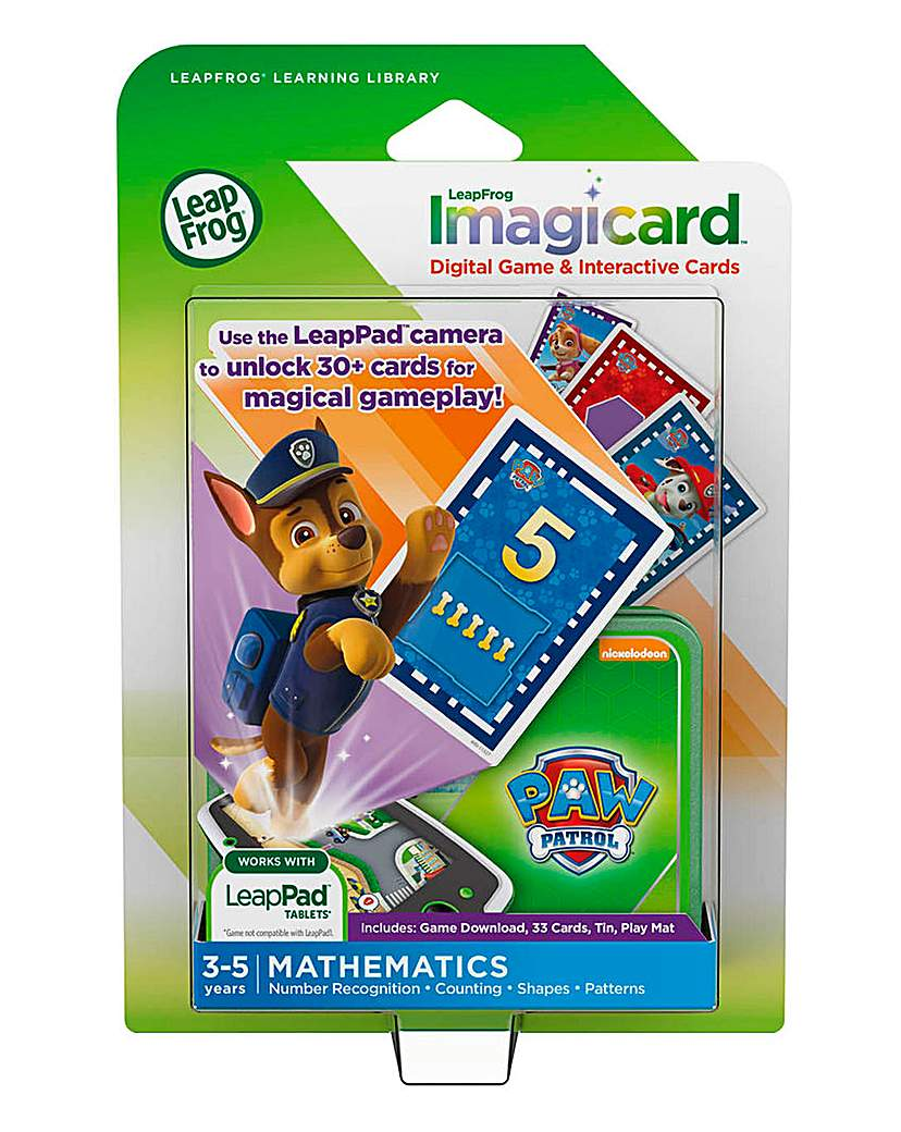 Image of LeapFrog Imagicards - Paw Patrol