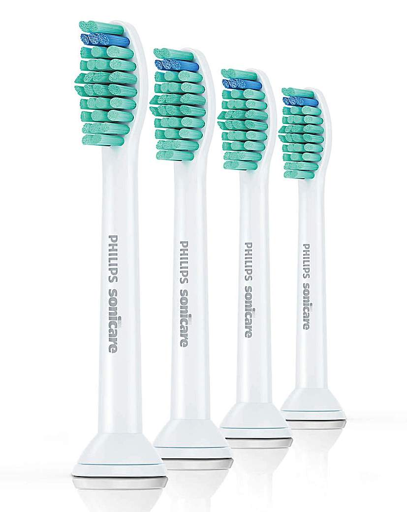 4 Philips ProResults Toothbrush Heads