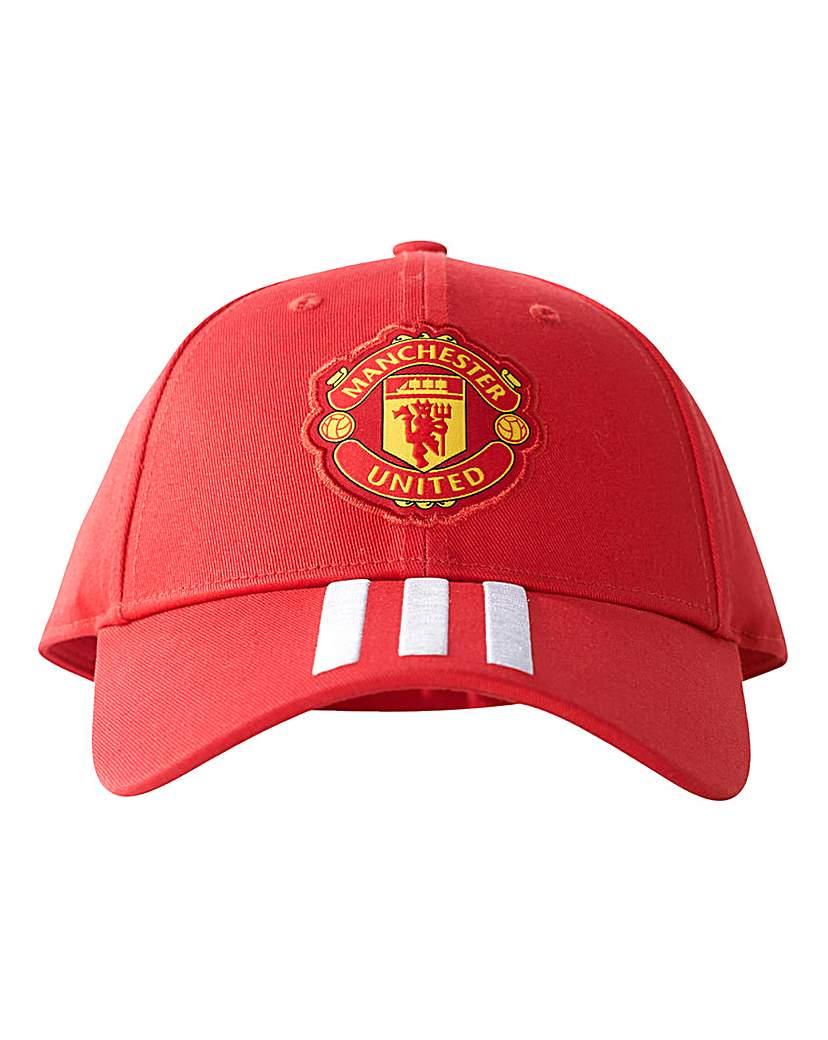 Manchester United Replica 3 Stripe Cap