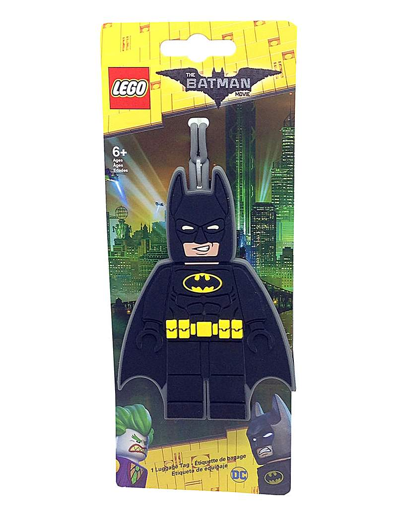 Image of LEGO The Batman Movie Batman Bag Tag