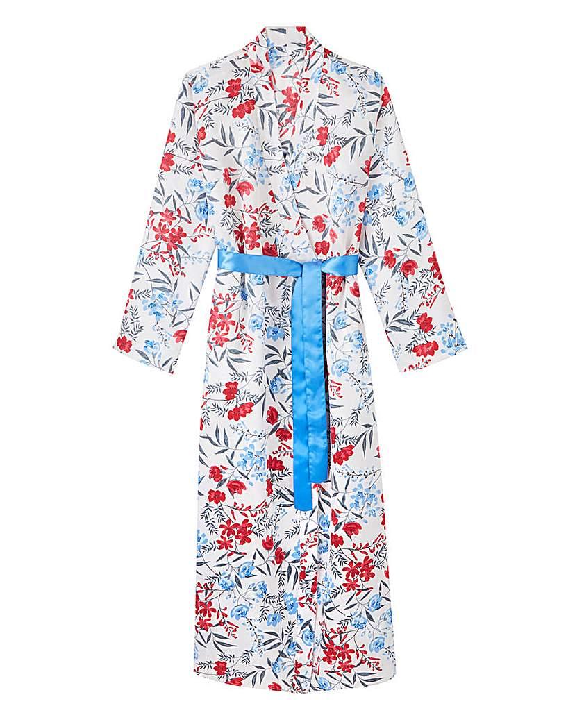 Pretty Secrets Pretty Secrets Luxury Satin Wrap Gown
