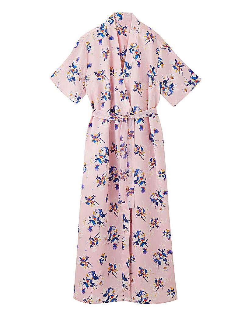 Pretty Secrets Pretty Secrets Luxury Floral Satin Gown