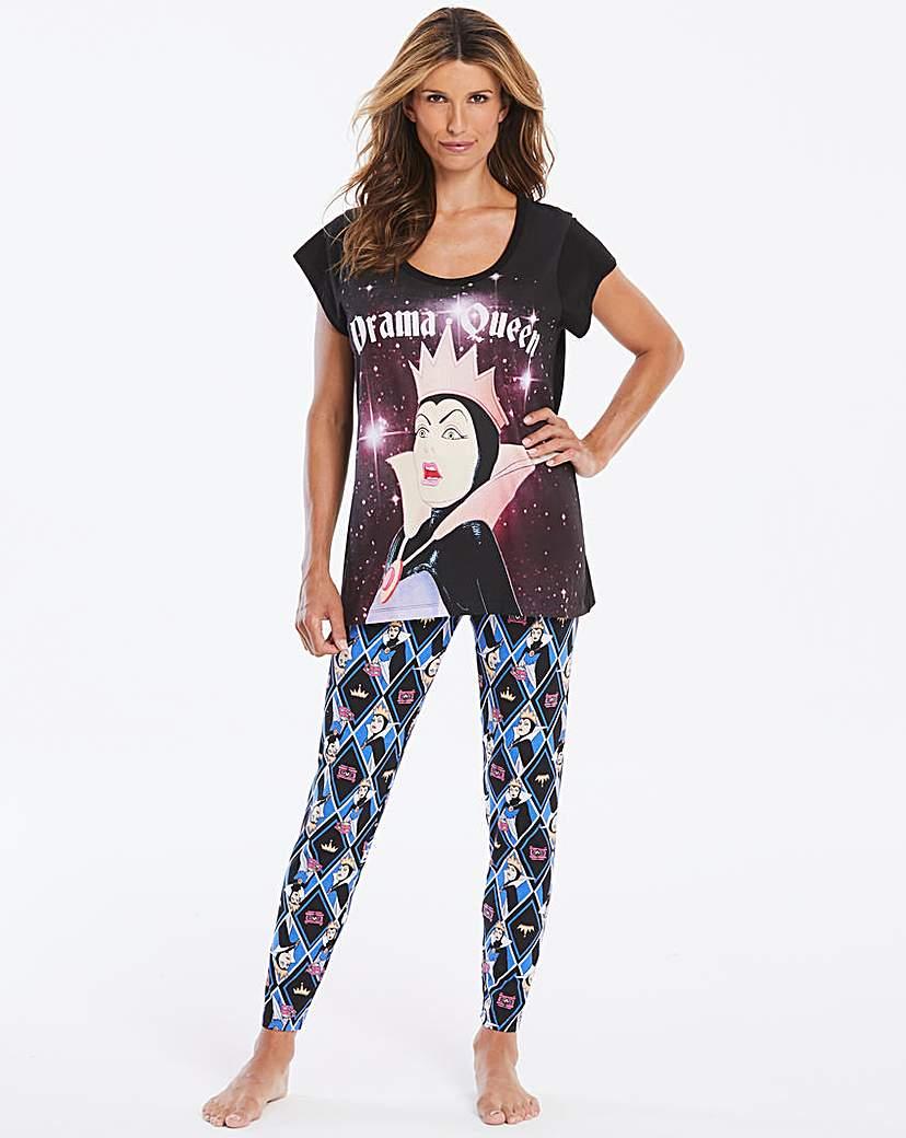 Disney Evil Queen Legging Pyjama Set