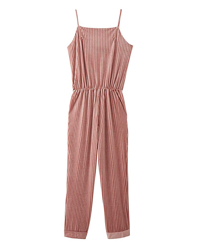 AX Paris Velour Lounge Jumpsuit