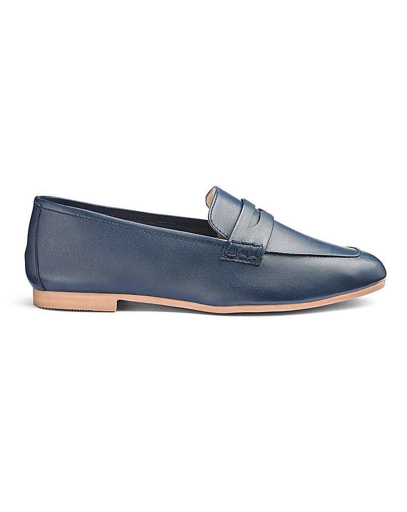 Soft Leather Loafers E Fit