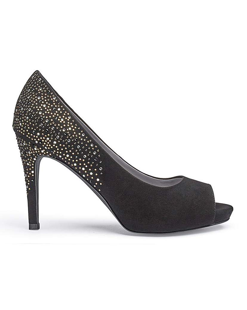 Joanna Hope Joanna Hope Peep Toe Shoes E Fit