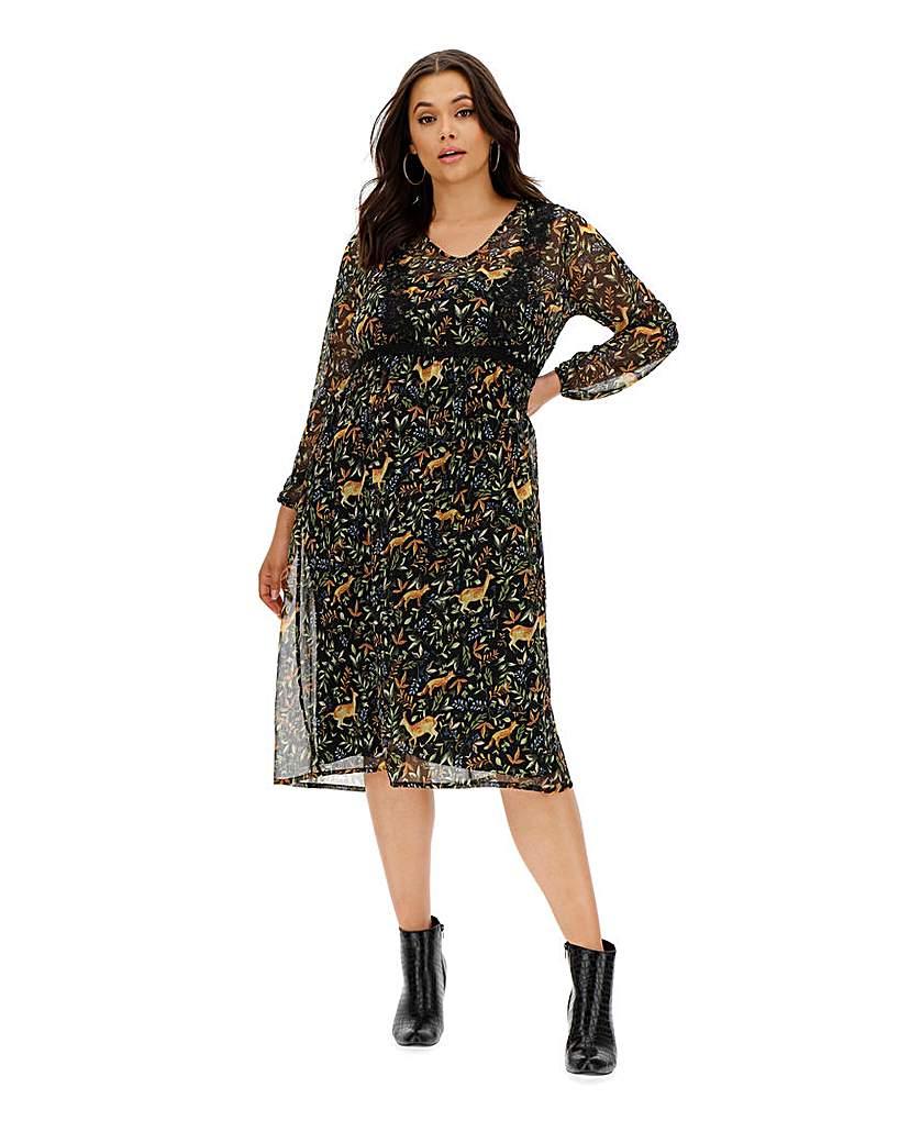Junarose Alkia Midi Dress