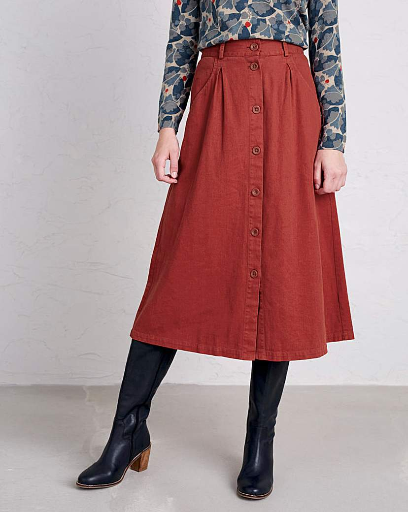 1960s Style Dresses, Clothing, Shoes UK Seasalt Screen Test Skirt £65.00 AT vintagedancer.com