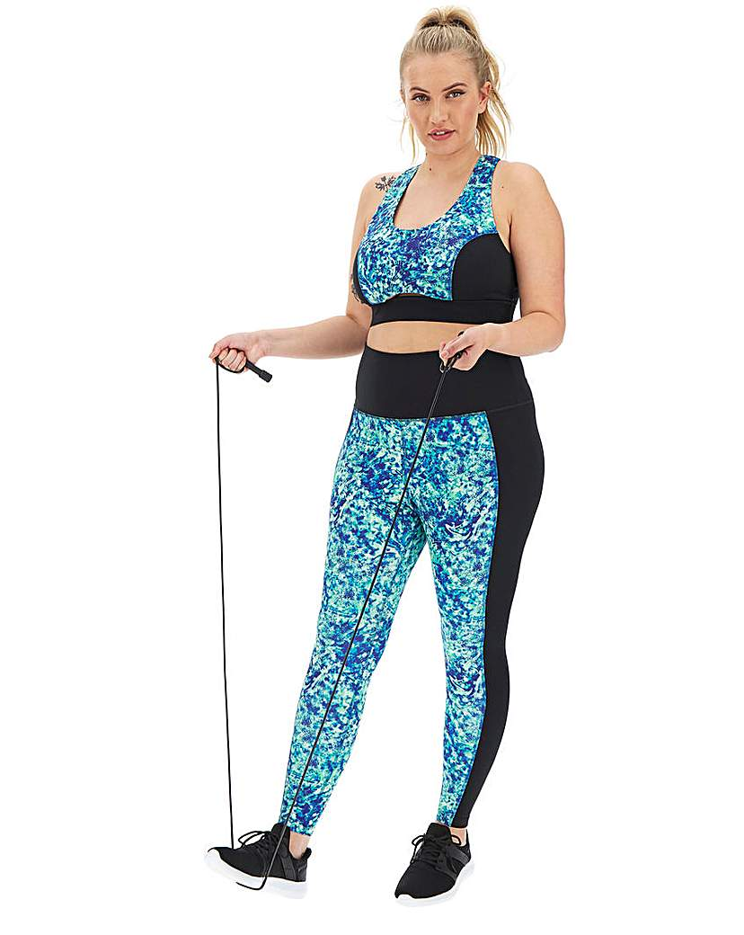 Wolf & Whistle Wolf and Whistle Abstract Curve Legging