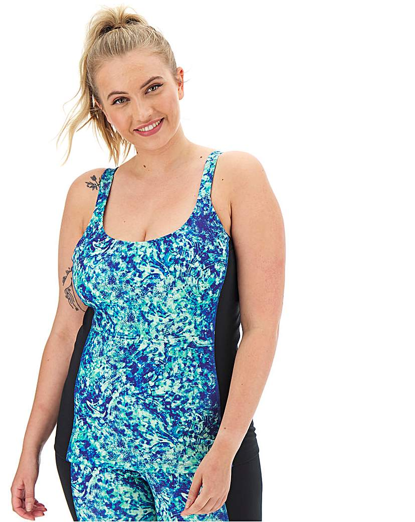 Wolf and Whistle Curve Abstract Vest