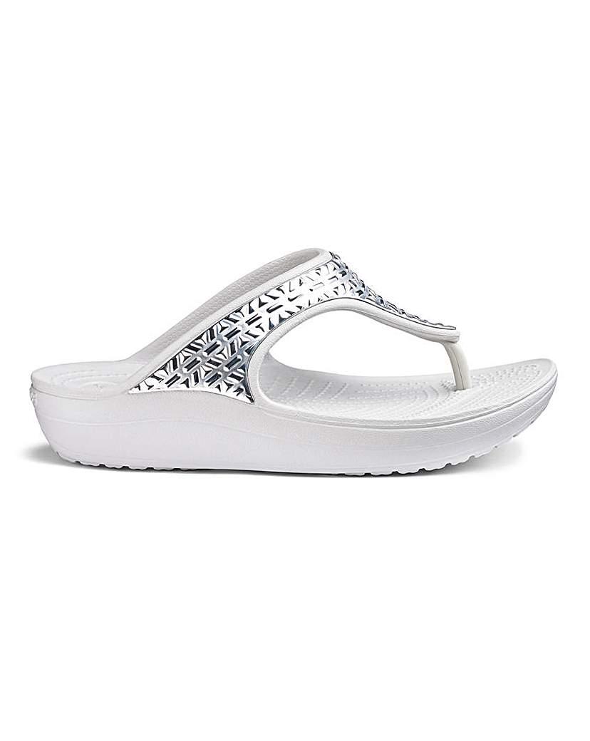 Crocs Crocs Toe Post Sandals