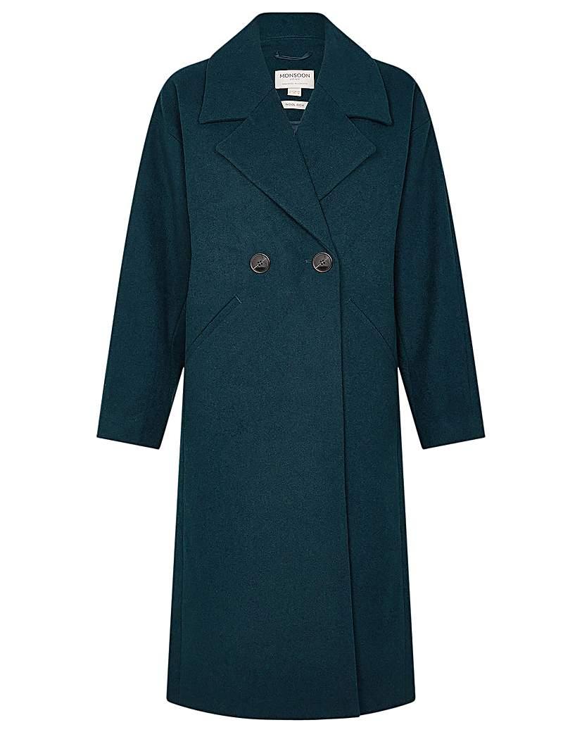 Vintage Coats & Jackets | Retro Coats and Jackets Monsoon Lilian Coat in Wool Blend £130.00 AT vintagedancer.com