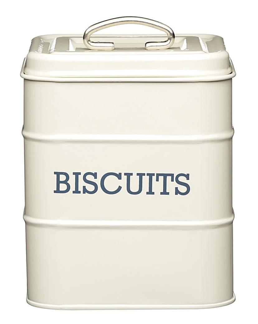 Living Nostalgia Biscuit Storage Tin