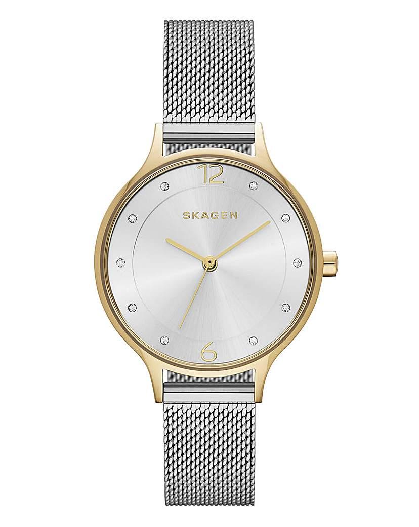 Skagen Ladies Anita Mesh Bracelet Watch