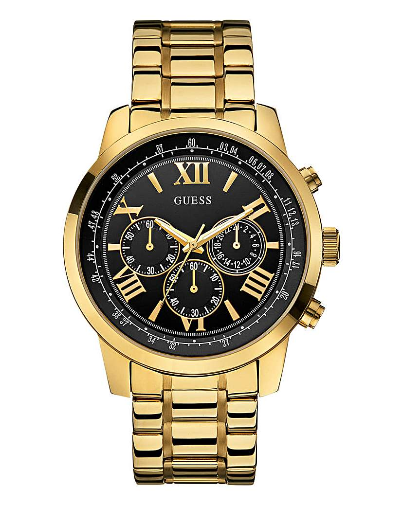 Guess Horizon Gold Bracelet Watch
