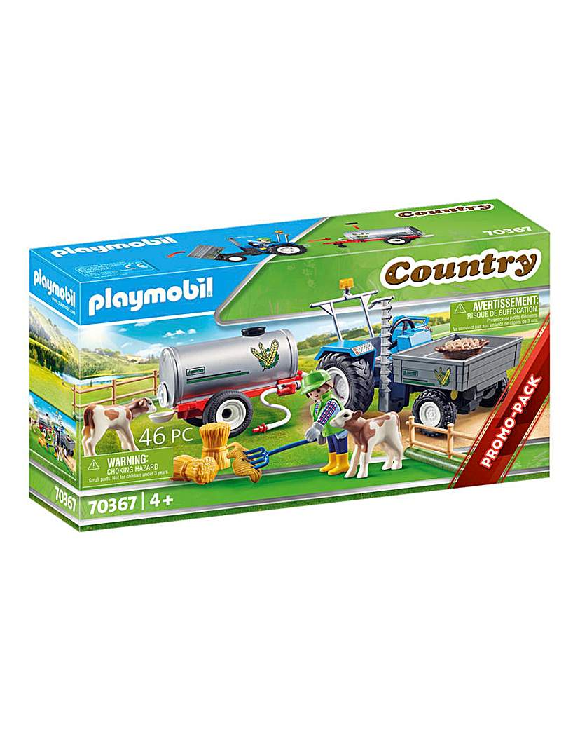 Playmobil 70367 Country Loading Tractor