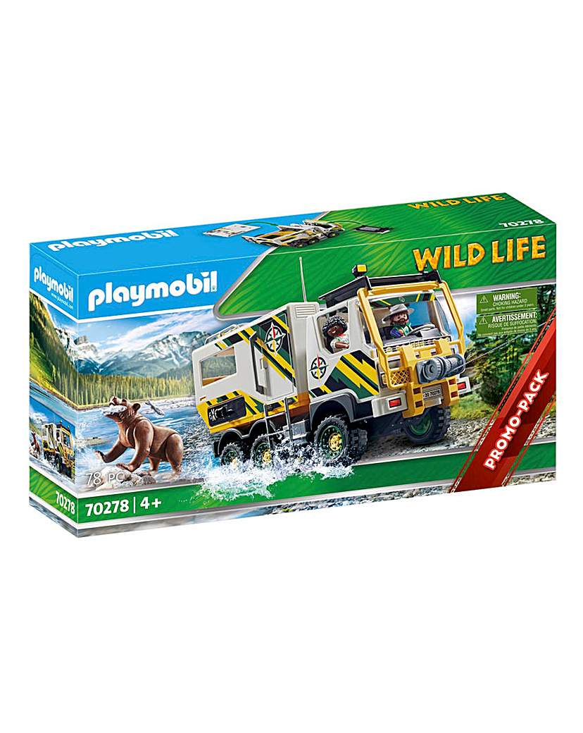 Playmobil 70278 Wild Life Expedition