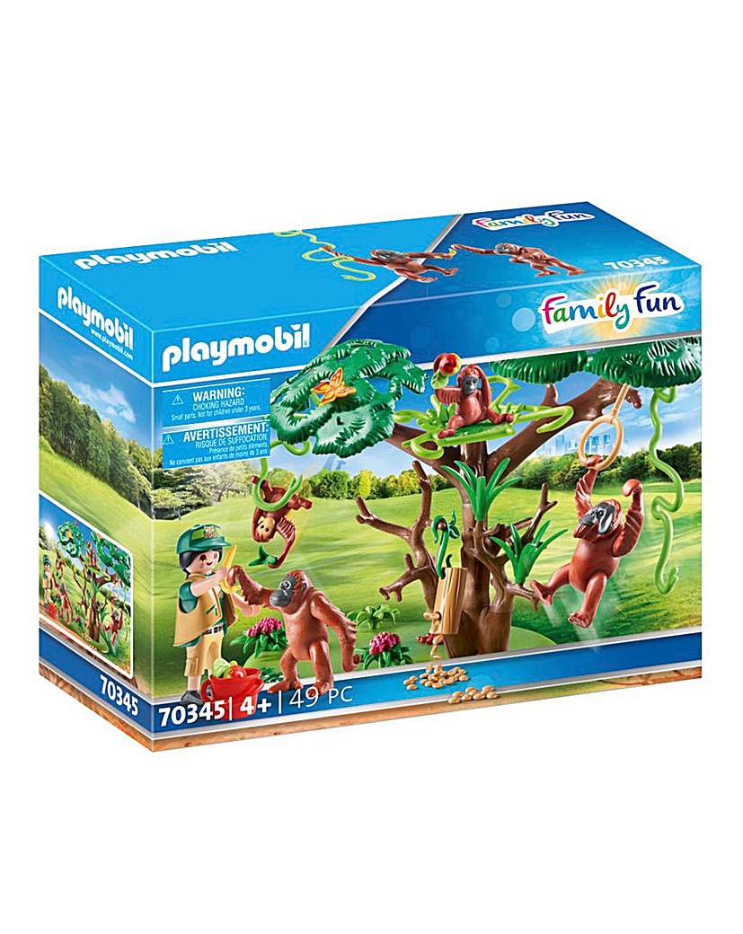 Playmobil 70345 Family Fun Orangutans