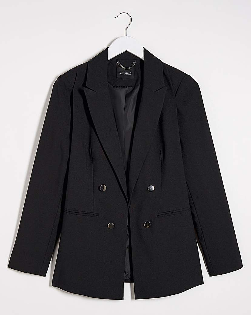 JDW Mix & Match Black Edge to Edge Blazer
