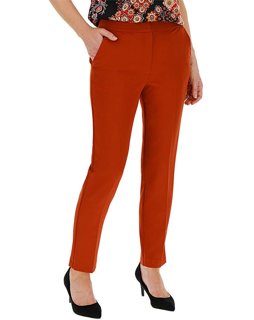 Rust Statement Tapered Trousers