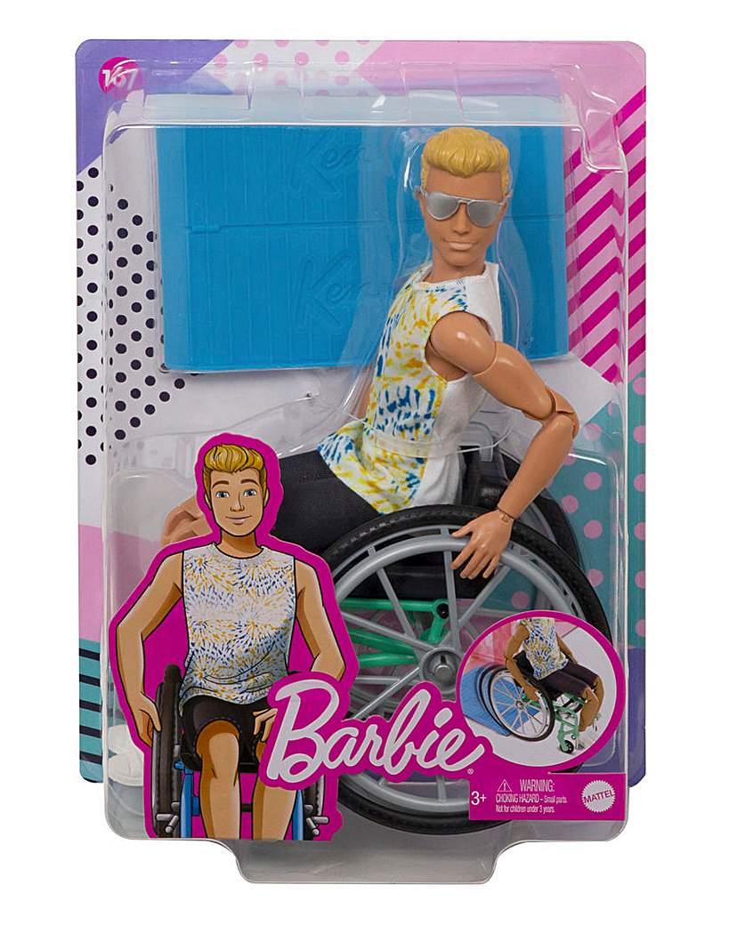 Ken Fashionista with Wheelchair