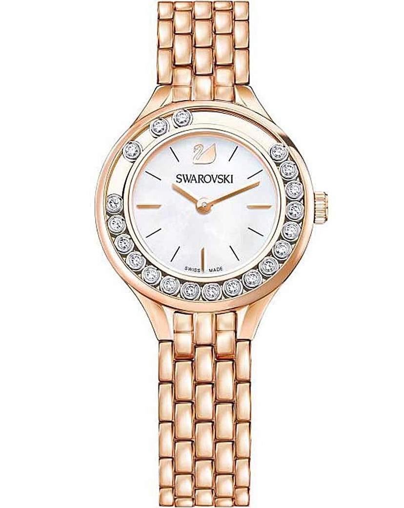 Swarovski Lovely Crystals Silver Watch