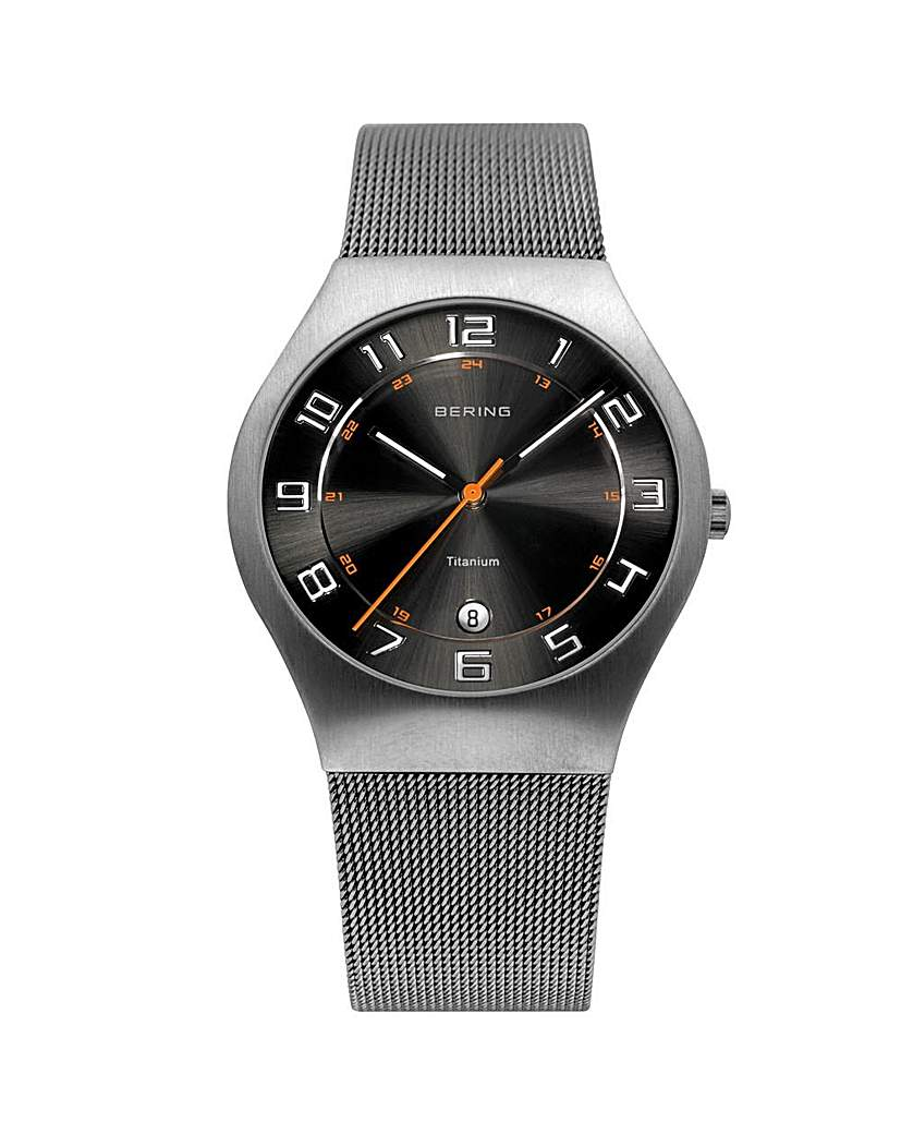 Bering Gents Mesh Bracelet Watch