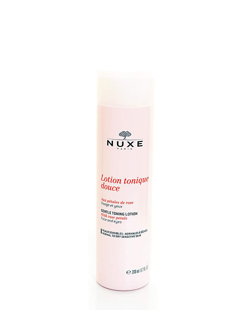 Gentle Toning Lotion With Rose Petals