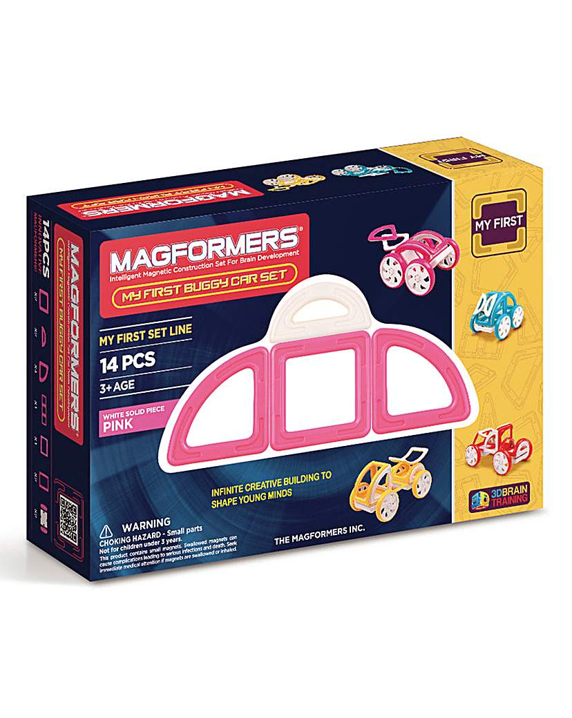 Image of Magformers My First buggy Car Set - Pink