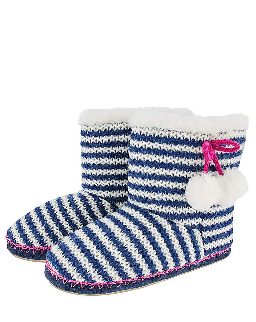 Accessorize Accessorize Nautical Stripe Knitted Boot
