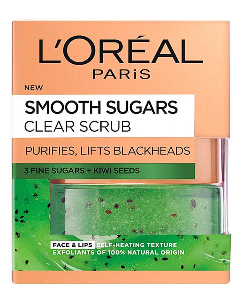 L'Oreal Smooth Sugar Clear Scrub