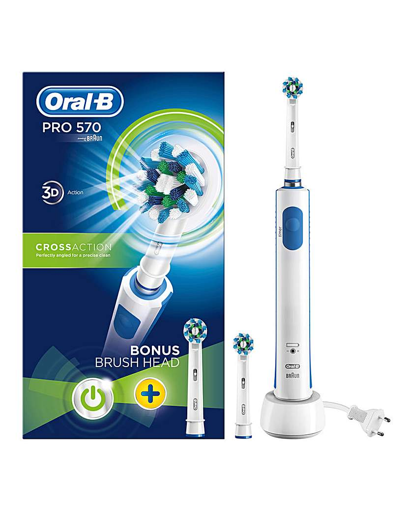 Oral-B Pro 570 Cross Action Toothbrush