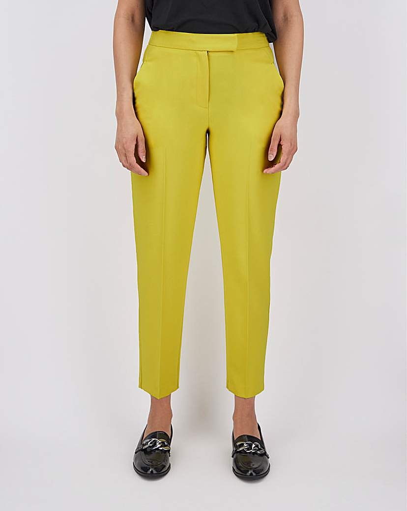 Image of Mix & Match Lime Tapered Trousers
