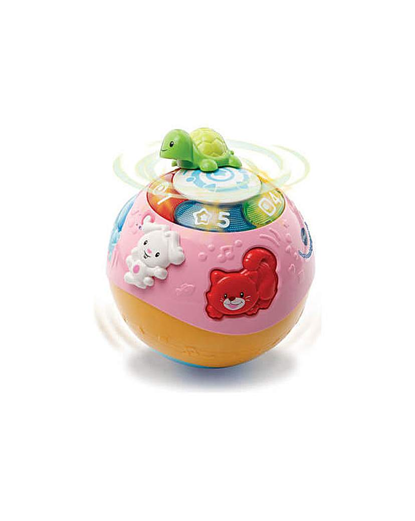 Image of VTech Crawl and Learn Ball - Pink