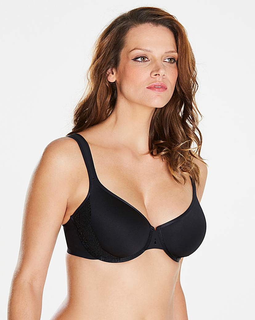 Image of Berlei TShirt Wired Black Spacer Bra
