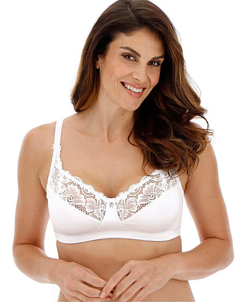 Image of Bestform Cocoon Non Wired White Bra