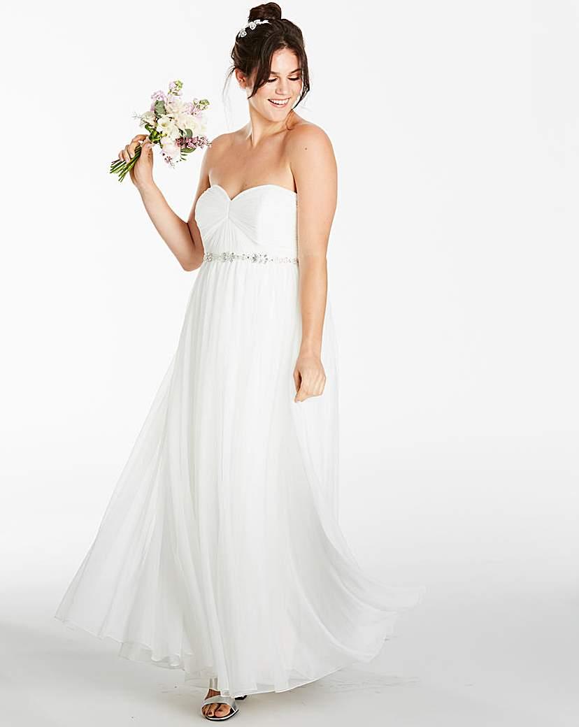 Joanna Hope Joanna Hope Bead Trim Dress