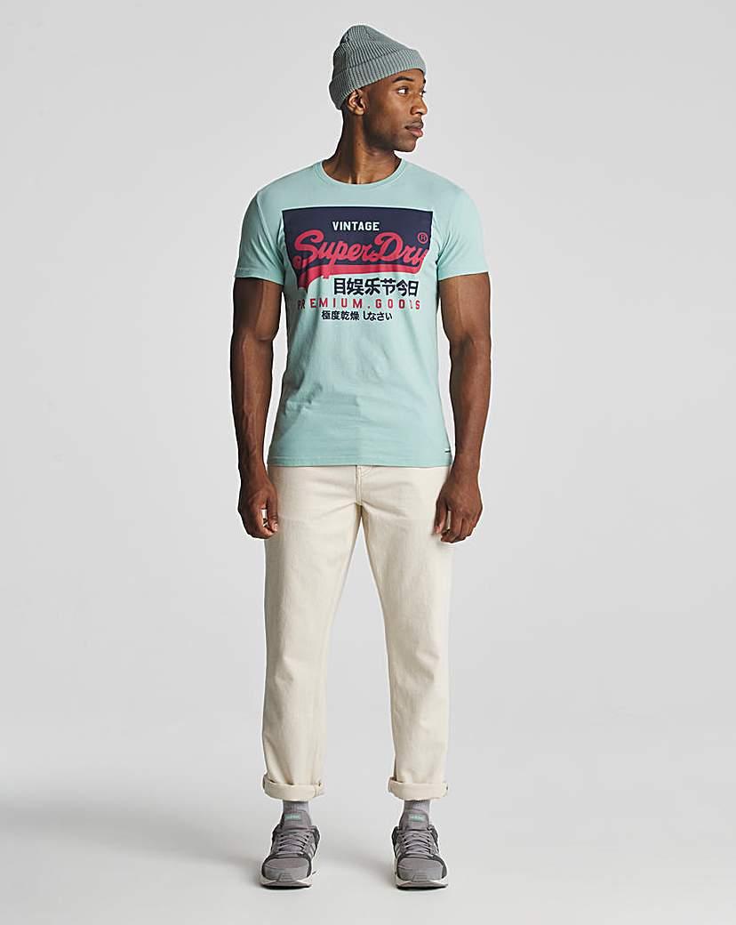 Superdry Vintage Label Printed T-Shirt