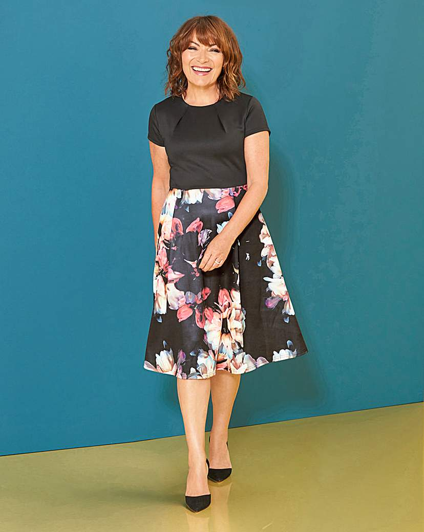 Lorraine Kelly Floral Fit & Flare Dress