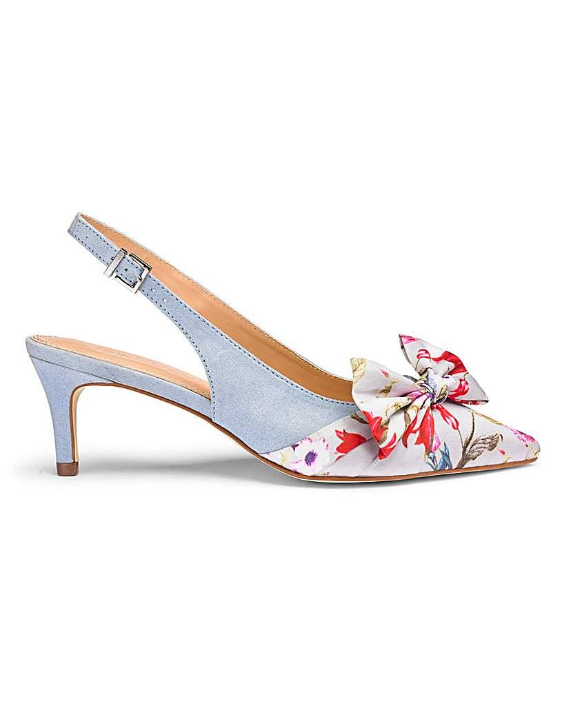 joanna hope slingback bow shoes e fit