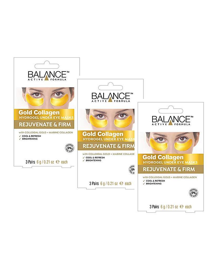 Balance Gold Collagen Under Eye Masks