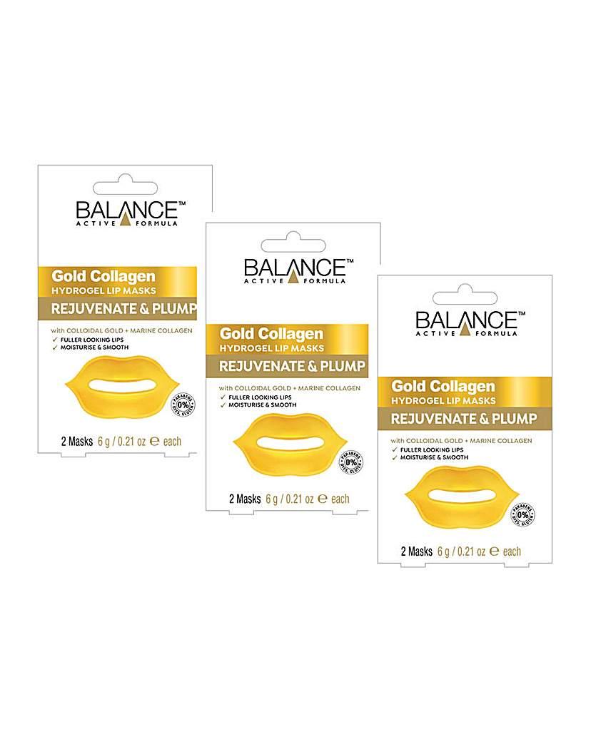 Balance Balance Gold Collagen Hydrogel Lip Masks