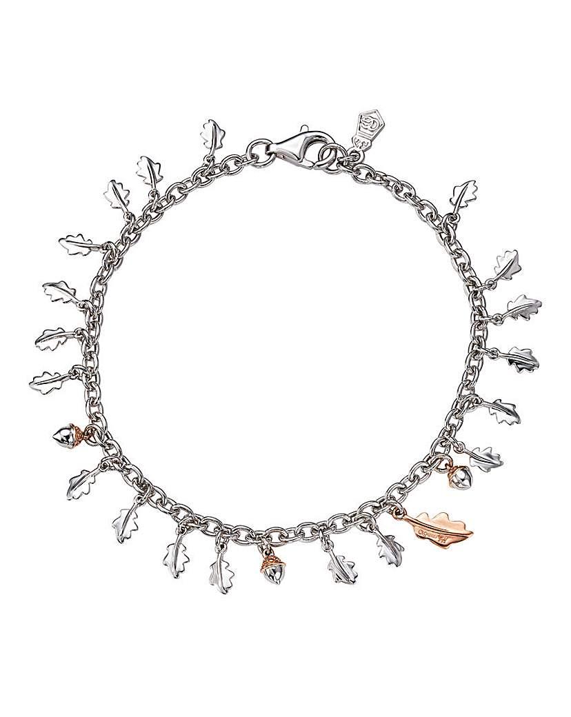 Clogau Royal Oak Silver & Gold Bracelet