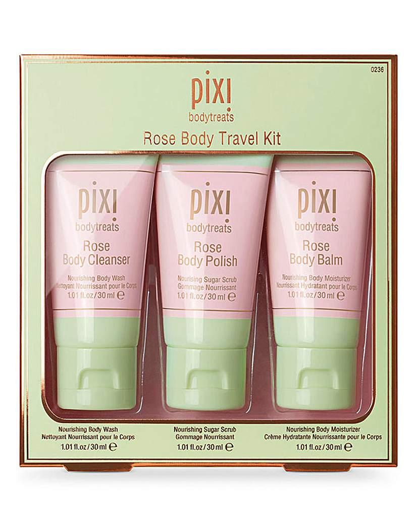 Pixi Pixi Rose Body Travel Kit