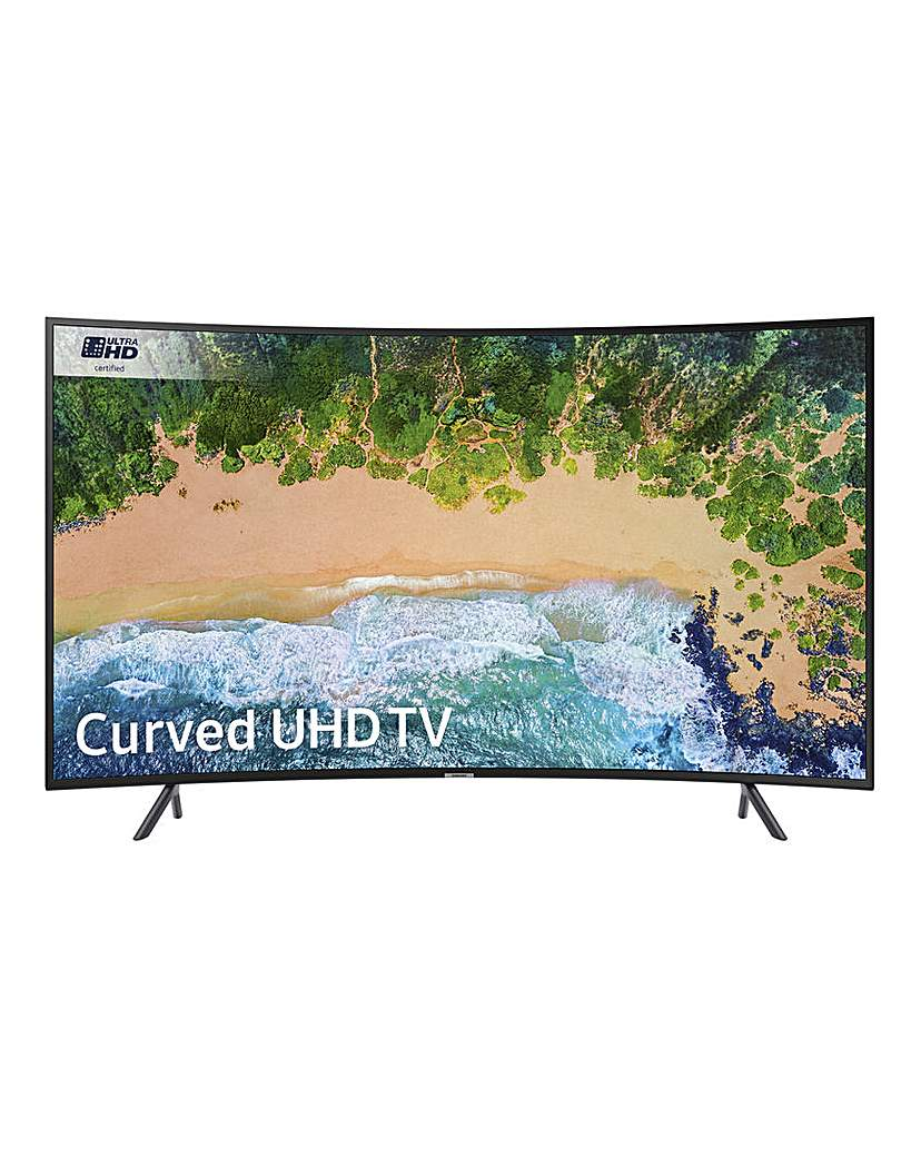 Samsung 65in 4K HDR Curved TV