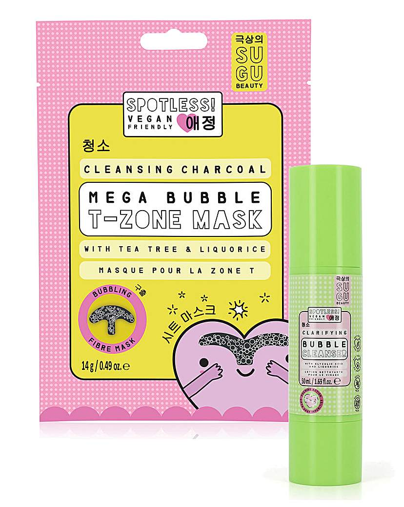Oh K! SUGU Spotless Cleansing Bubble Set